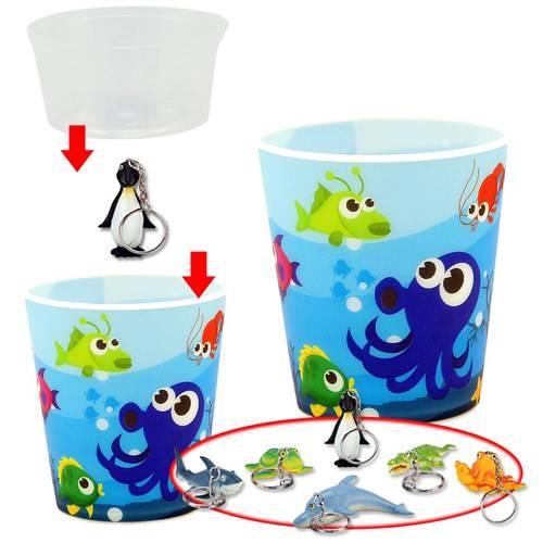 2D IJsbeker set, zeedieren