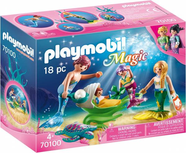 Meerminnenfamilie Playmobil (70100)
