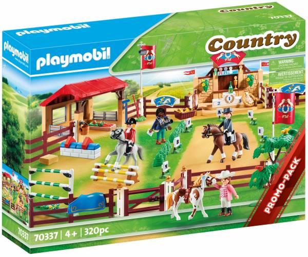 Grote wedstrijdpiste Playmobil (70337)