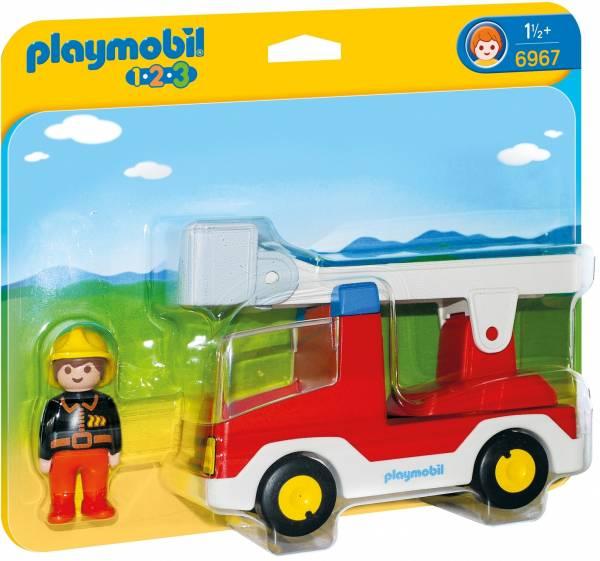 Brandweerwagen met ladder Playmobil (6967)