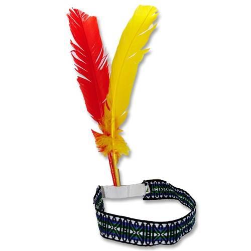 Indianentooi met hoofdband
