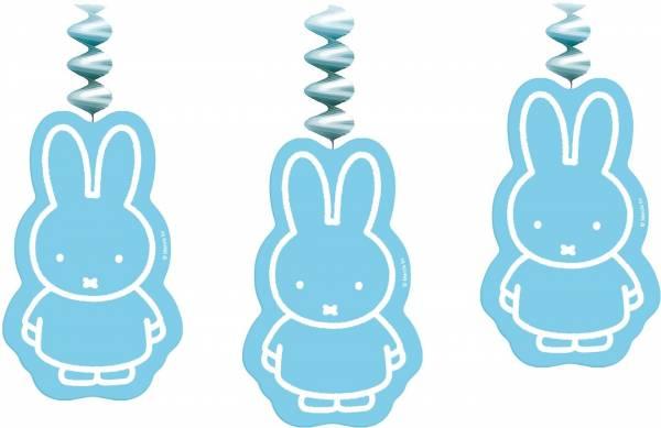 Slinger Nijntje met hangers: blauw - 3 stuks (4363 84)