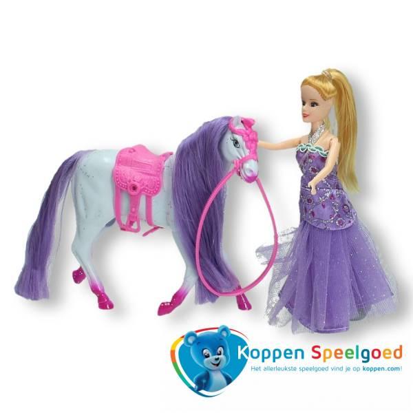 Paard met prinses