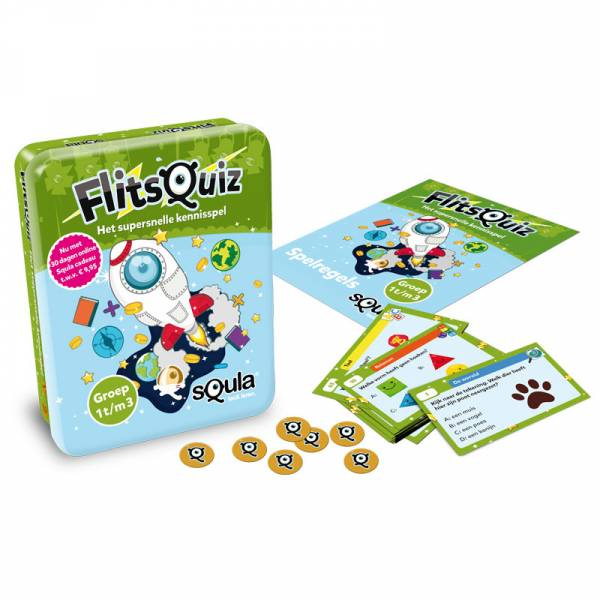 Identity Games, Squla Flitsquiz groep 1/2/3