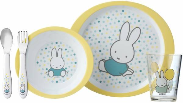 Eetsetje Nijntje Mepal baby: confetti 5-delig (108 315565224)