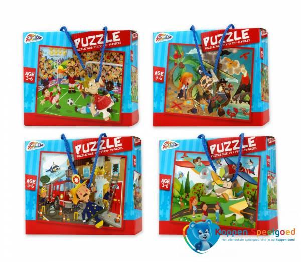 Puzzel jongens