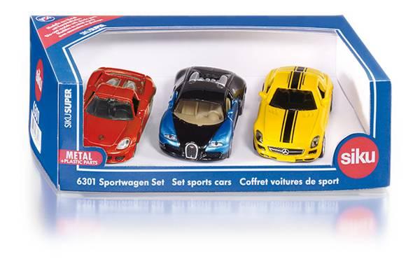 Sportwagen set SIKU (6301)