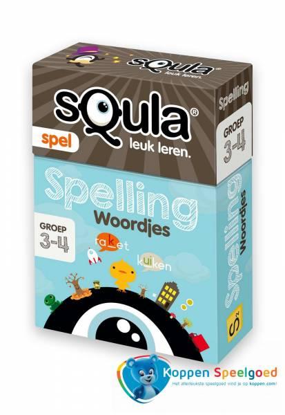 Identity Games, sQula Spelling Woordjes groep 3-4