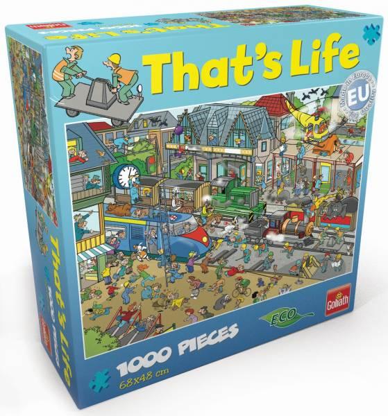 Puzzel That´s Life Train Station: 1000 stukjes