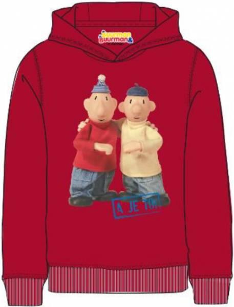 Sweater Buurman en Buurman: rood maat 98/104