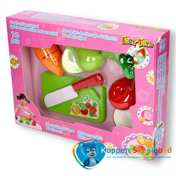 Fruit set met mes en plank