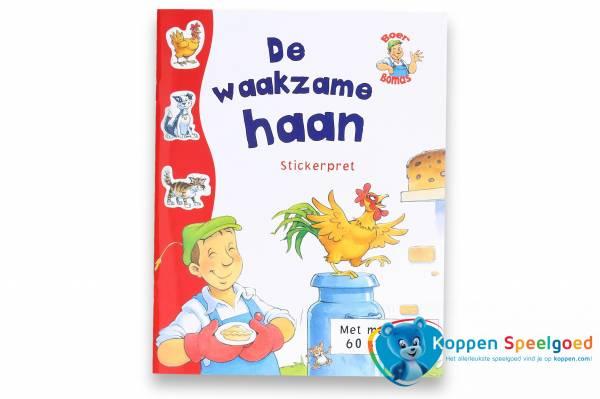 Stickerpret Boer Bomas - De Waakzame Haan