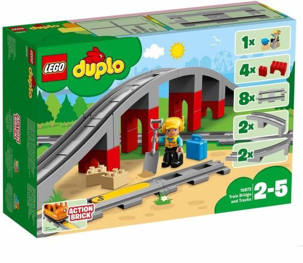 Treinbrug en- rails Lego Duplo (10872)