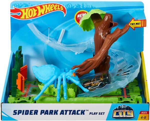 Spider Park Attack speelset Hotwheels