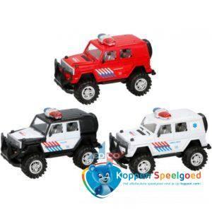 Hulpdiensten monster truck 27,5 cm