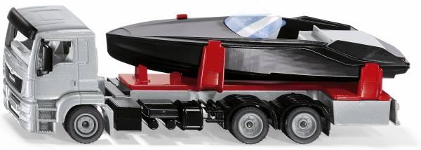 MAN truck met motorboot SIKU (2715)