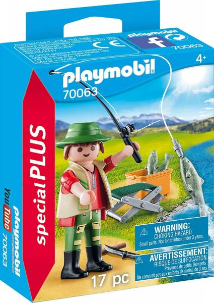 Visser met hengel Playmobil (70063)