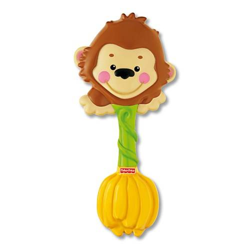 Fisher Price Gorilla Giggle Rattle