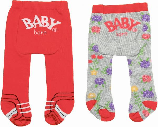 Maillot Trend Baby Born: rood/grijs (868228/827000 )