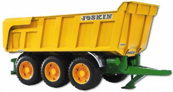 Bruder Joskin 3-Assige Kiepaanhanger 02212
