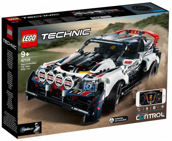Top Gear Rally Car App-Controlled Lego (42109)