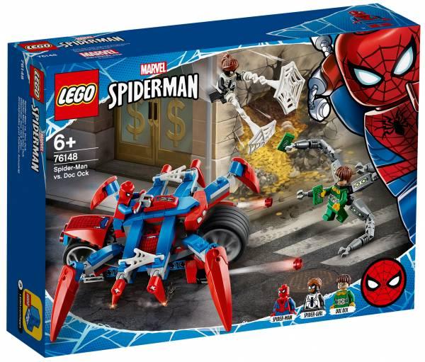 Spider-Man vs Doc Ock Lego (76148)