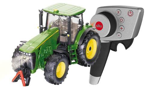 Siku John Deere 8345R tractor set met remote control