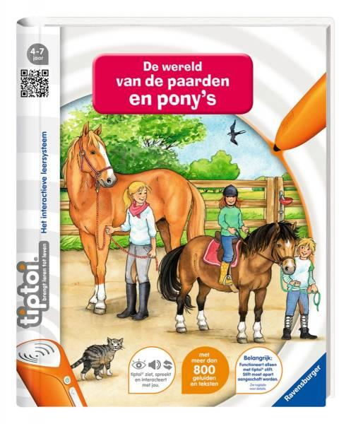 Boek Tiptoi: De wereld van paarden en ponies (9%) (6502)