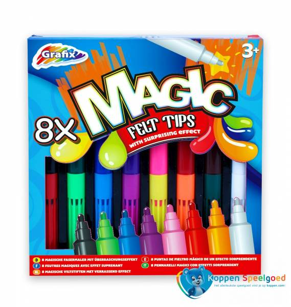 Magische viltstiften 8 stuks