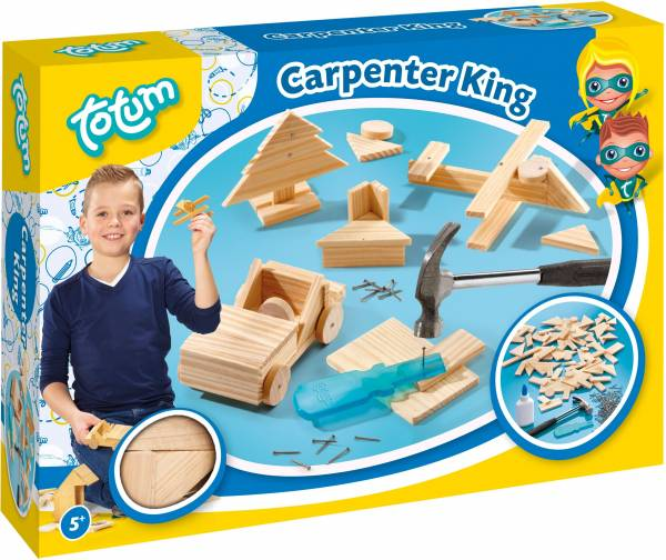 Carpenter King ToTum: timmerset (025042)