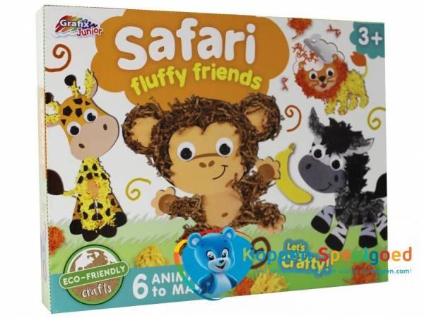 Maak je eigen safari vriendjes