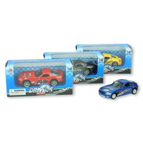 Race auto van metaal 1:43