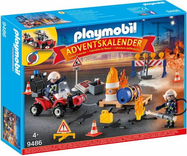 Adventskalender interventie op bouwwerf Playmobil (9486)