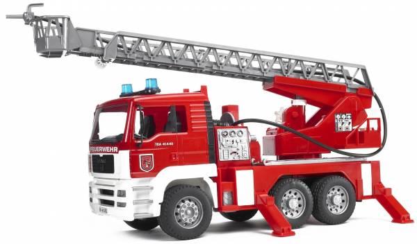 Bruder MAN TGA Brandweer Ladderwagen Waterpomp 02271