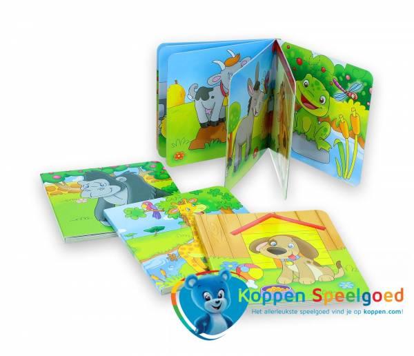 Kartonboek met plaatjes