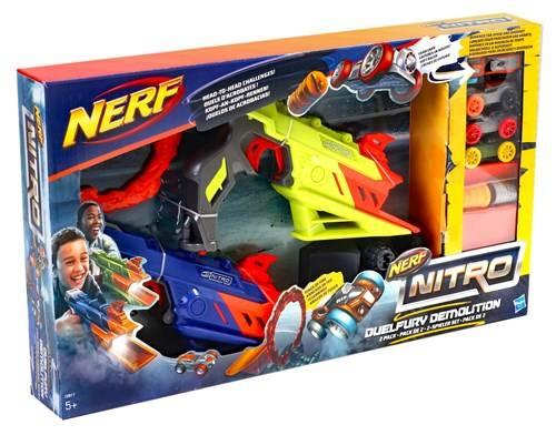NERF Nitro duelfury demolition 2 pack