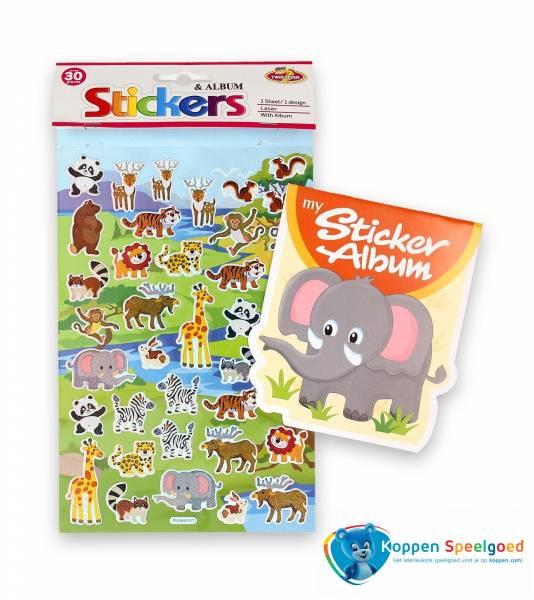 Sticker album olifant