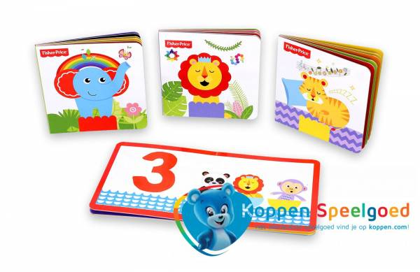 Fisher-Price kartonnen boek