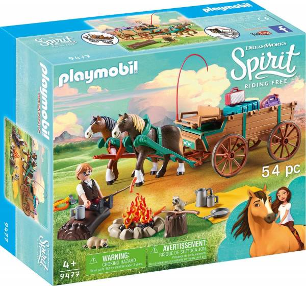 Lucky`s vader en wagen Playmobil (9477)