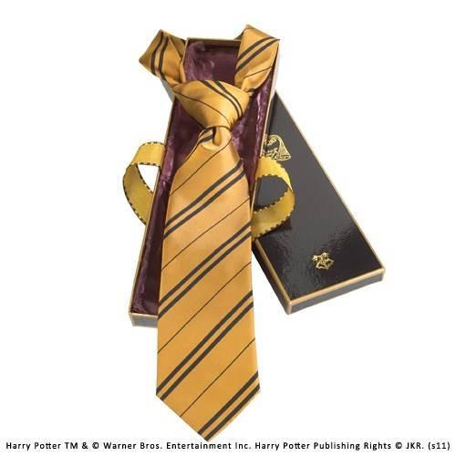 Hufflepuff 100% zijden stropdas in Madam Malkins Box