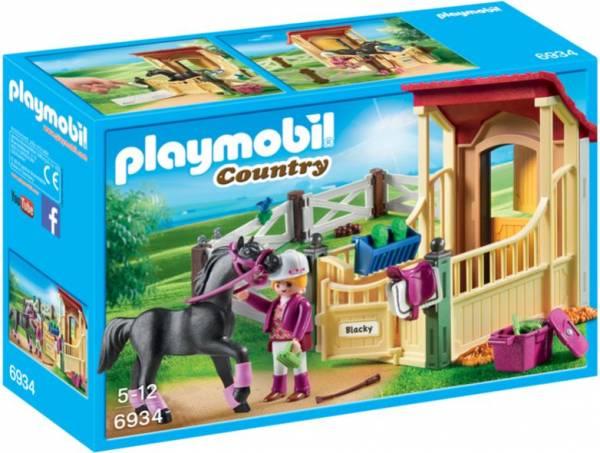 Arabier met paardenbox Playmobil (6934)