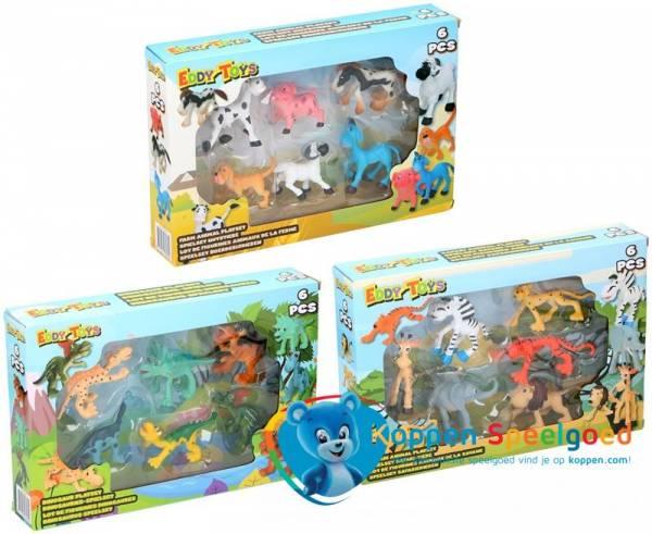 Dieren speelset in doos