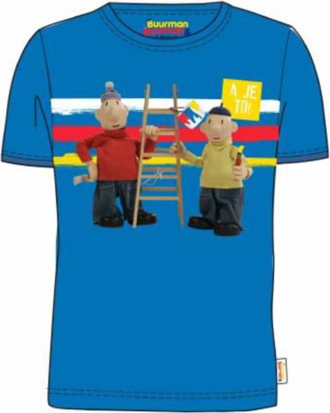 T-shirt Buurman en Buurman: blauw maat 110/116