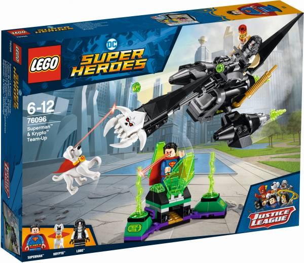 Superman en Krypto werken samen Lego (76096)