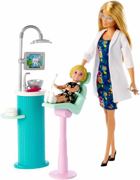 Tandartspop en accessoires Barbie (FXP16)