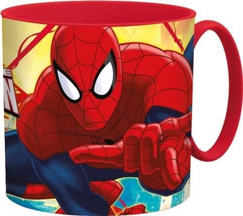 Beker met handvat Spiderman Red Webs 265 ML