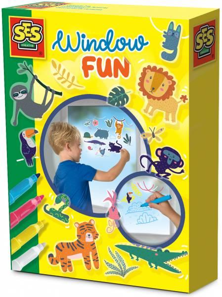 Window fun SES: jungle (14274)