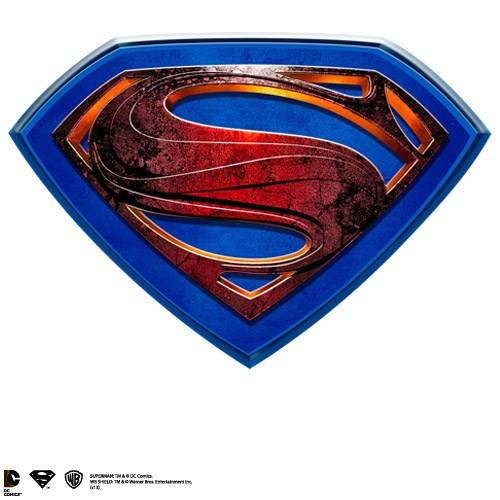 Man of Steel - Muurplaat