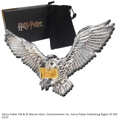 Vliegende Hedwig broche