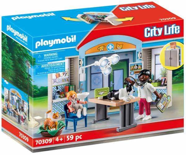 Speelbox Dierenarts Playmobil (70309)